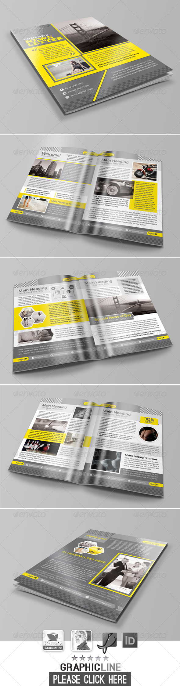 GraphicRiver Multipurpose Newsletter 7347585