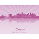 Denver Skyline - GraphicRiver Item for Sale