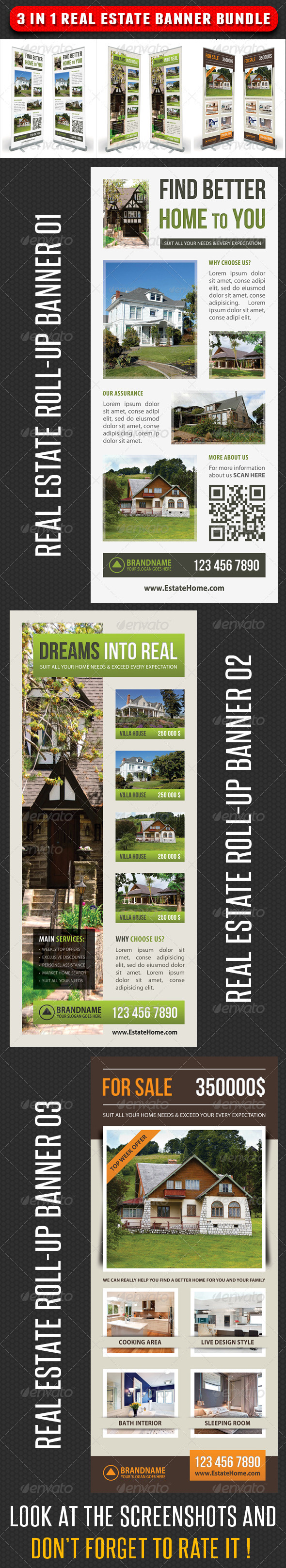 GraphicRiver 3 in 1 Real Estate Banner Bundle 04 7346594