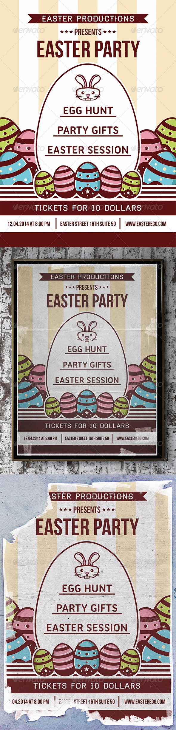 GraphicRiver Easter Flyer 7347663