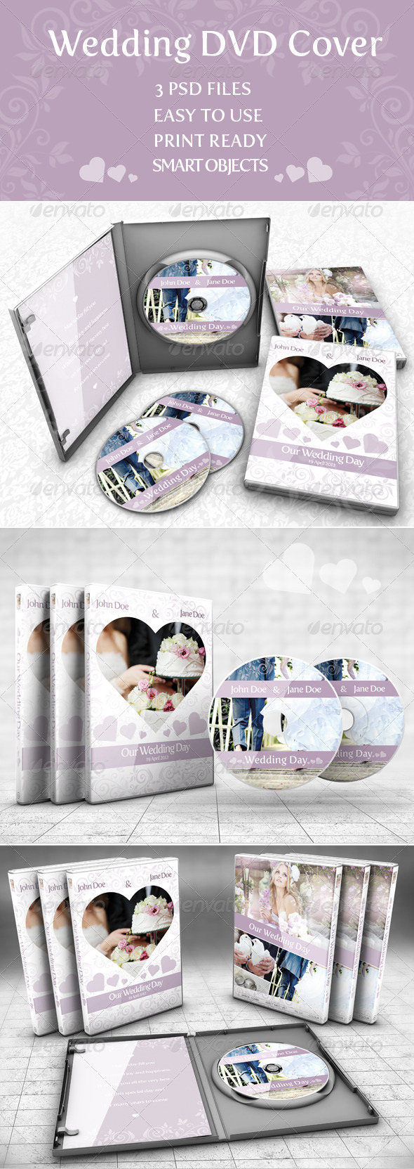 GraphicRiver Wedding DVD Cover 7347918