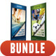 3 in 1 Corporate Rollup Banner Bunle 08 - GraphicRiver Item for Sale