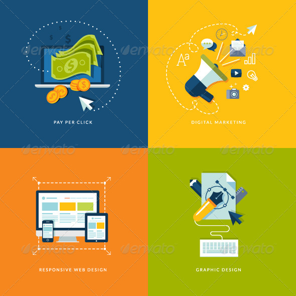 GraphicRiver Internet Marketing and Web Development Concepts 7281619