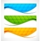 Set of Wavy Banners - GraphicRiver Item for Sale