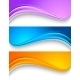 Set of Wavy Colorful Banners - GraphicRiver Item for Sale