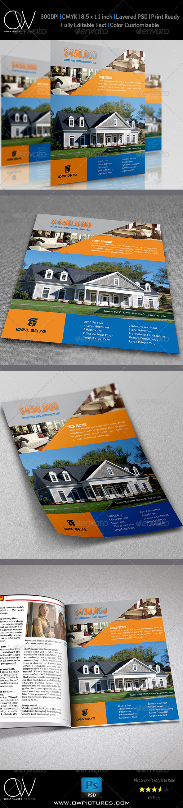 GraphicRiver Real Estate Flyer Template Vol.10 7342020