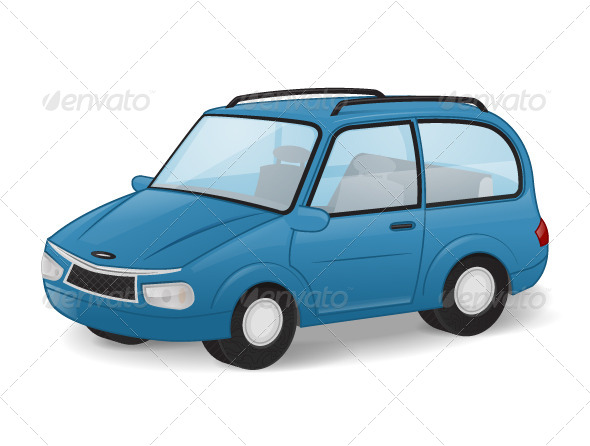 GraphicRiver Car 7350915
