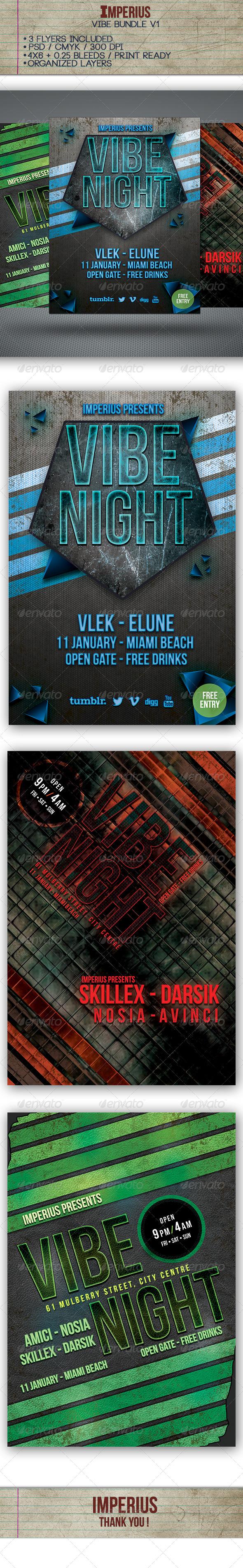 GraphicRiver Vibe Bundle Vol.1 7350921