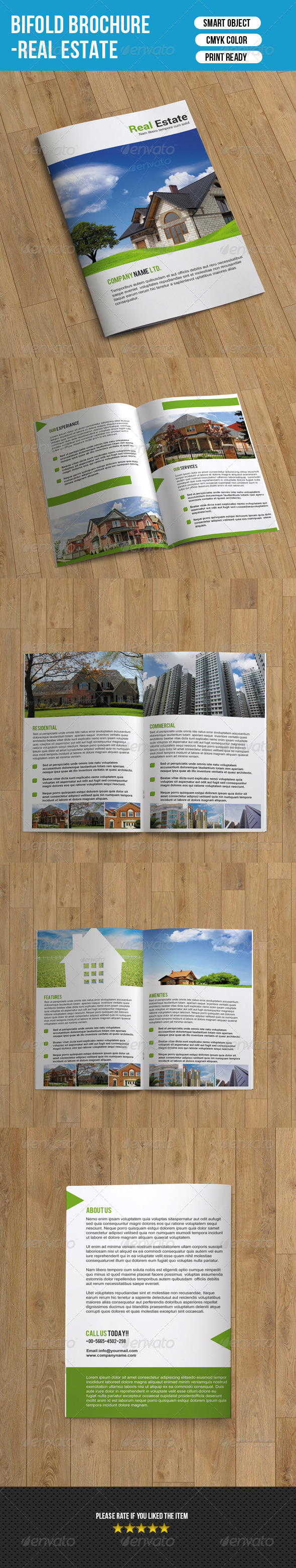 GraphicRiver Real Estate Brochure-8 Pages 7351378