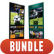 4 in 1 Sport Rollup Banner Bunle 02 - GraphicRiver Item for Sale
