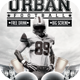 Urban Football Flyer Template - GraphicRiver Item for Sale
