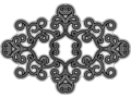 Black Flourish Ornament - PhotoDune Item for Sale