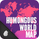 Humongous World Map - GraphicRiver Item for Sale