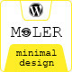 Moler - Full Screen WordPress Portfolio - ThemeForest Item for Sale