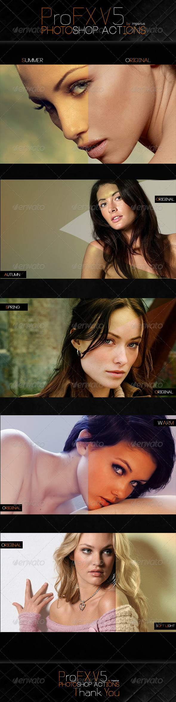 GraphicRiver ProFX V5 Actions 7351803