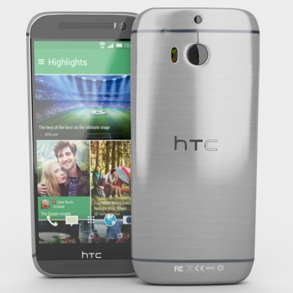 3DOcean HTC One M8 7352333