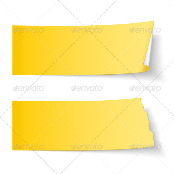 GraphicRiver Sticky Papers 7352588