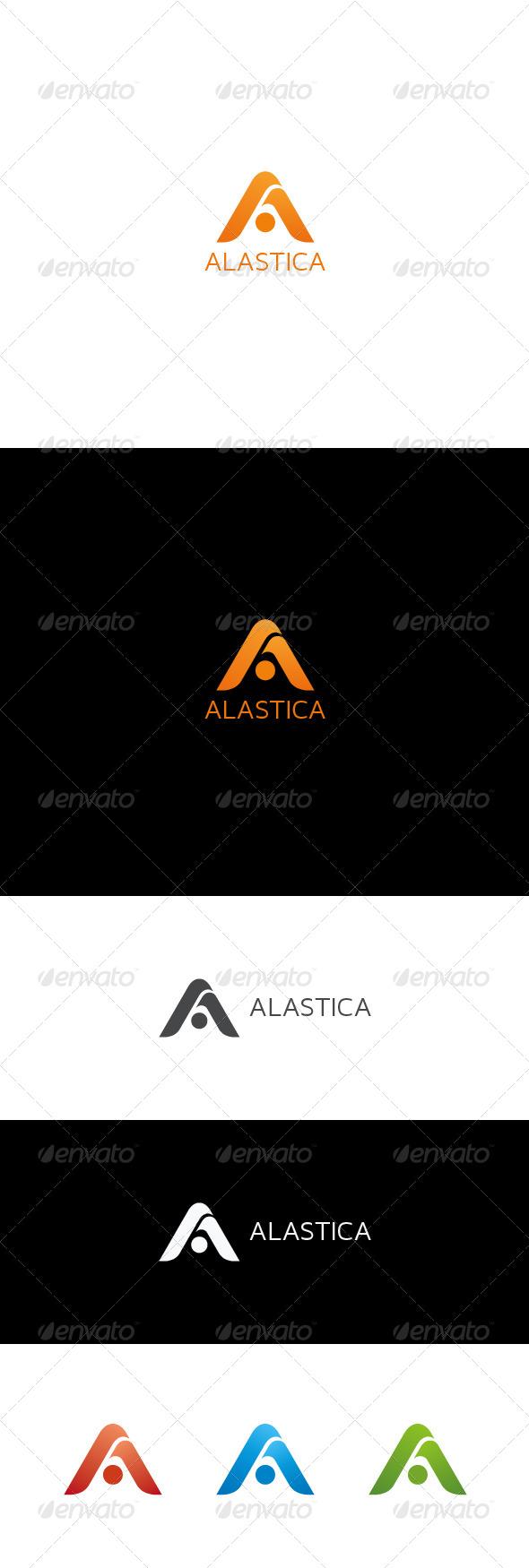 GraphicRiver A Letter Logo ALASTICA 7352874