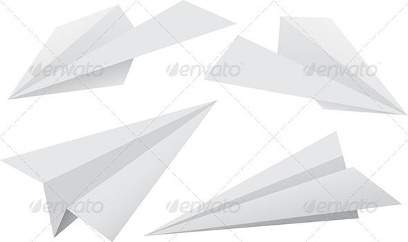 GraphicRiver Paper Planes 7352941