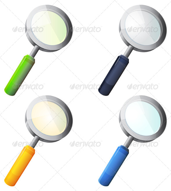 GraphicRiver Magnifying Glass Illustration 7338375
