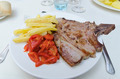 Veal steak in a plate - PhotoDune Item for Sale