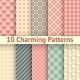 Romantic Vector Seamless Patterns - GraphicRiver Item for Sale