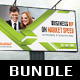 3 in 1 Corporate Outdoor Banner Bundle 08 - GraphicRiver Item for Sale