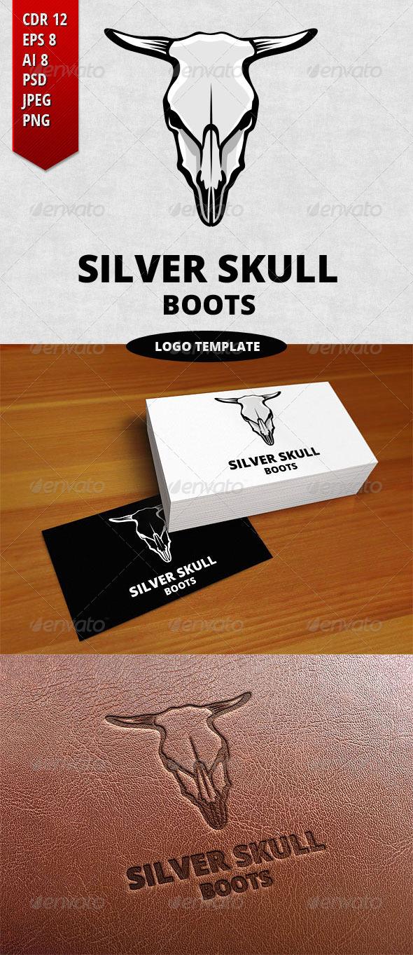 GraphicRiver Silver Skull Logo Template 7331997