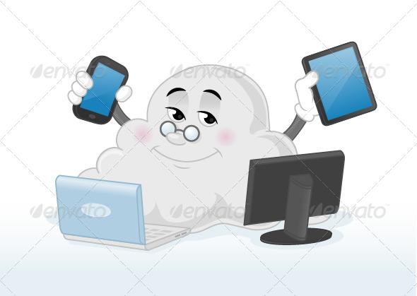GraphicRiver Cloud Computing 7353860