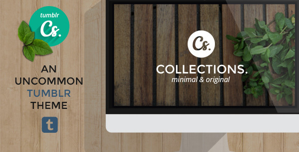 Collections – An Uncommon Tumblr Theme (Tumblr) images
