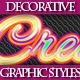 Set of Colorful Decorative Graphic Styles - GraphicRiver Item for Sale