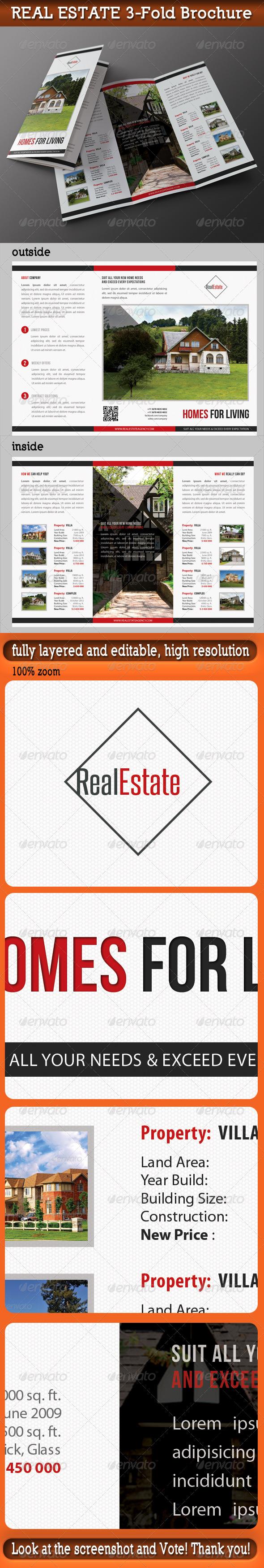 GraphicRiver Real Estate 3-Fold Brochure 01 7354154