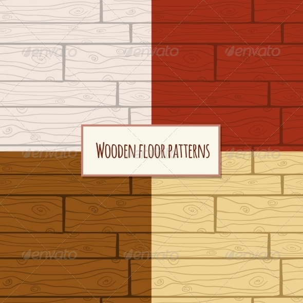 GraphicRiver Wooden Floor Seamless Pattern 7354157