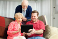 Teaching Seniors to Use Tablet PC - PhotoDune Item for Sale
