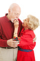 Healthy Senior Couple Eating Berries - PhotoDune Item for Sale