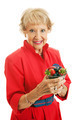 Healthy Senior Woman With Berries - PhotoDune Item for Sale