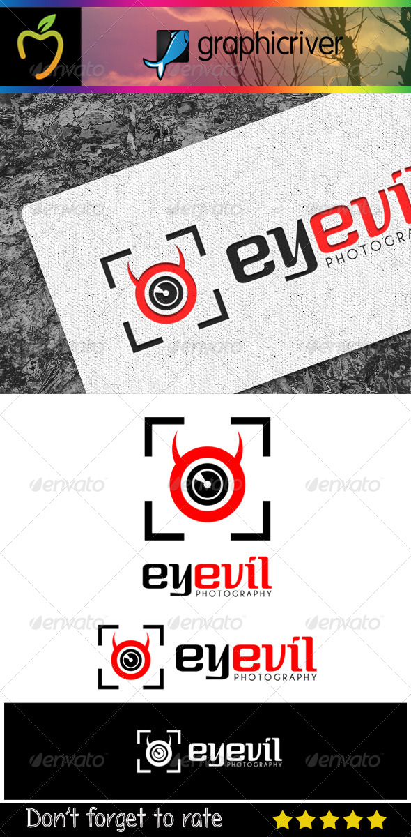 GraphicRiver Eyevil Photography Logo 7354323