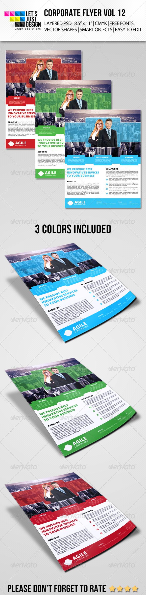 GraphicRiver Corporate Flyer Template Vol 12 7354368