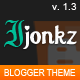 Ijonkz - Responsive Magazine/News Blogger Template - ThemeForest Item for Sale