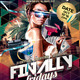 Finally Fridays Party Flyer - GraphicRiver Item for Sale