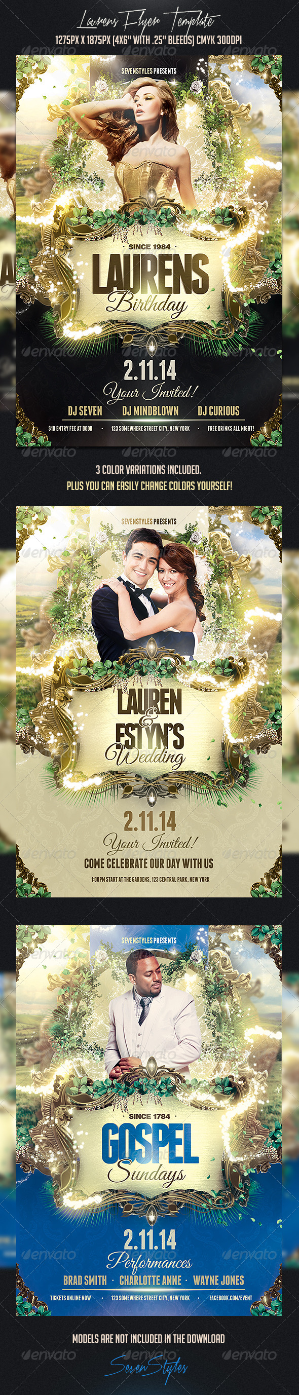 GraphicRiver Laurens Flyer Template 7354738