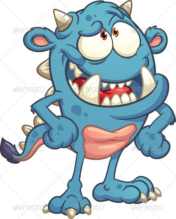 GraphicRiver Cartoon Monster 7355997