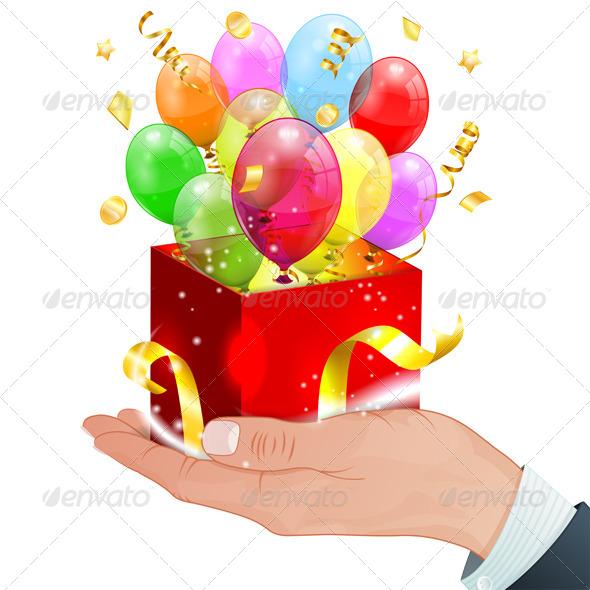 GraphicRiver Birthday Balloons 7356876