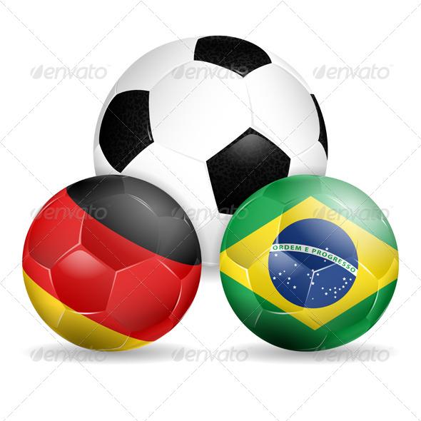 GraphicRiver Soccer Balls 7356950