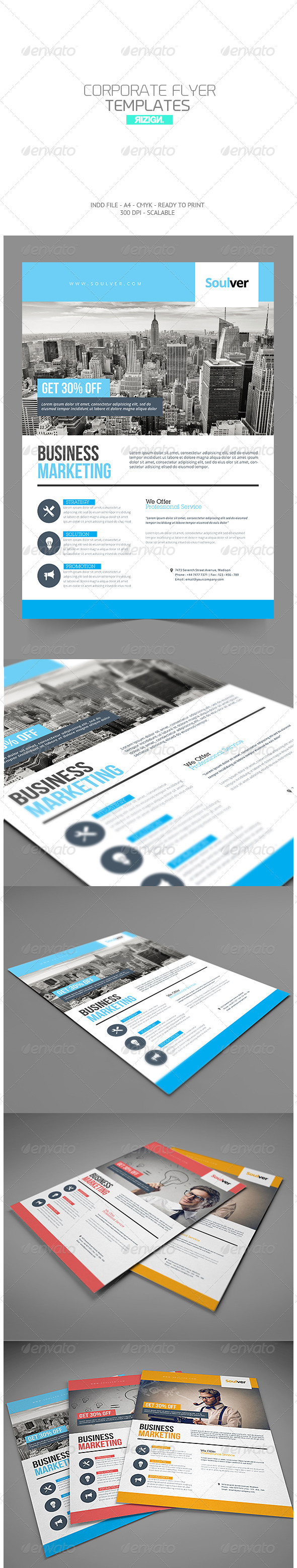 GraphicRiver Corporate Flyer 7357021