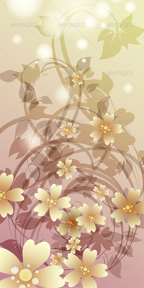 GraphicRiver Flower Whirlpool 7358091