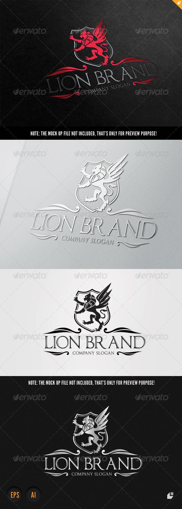 GraphicRiver Lion Brand 7358628