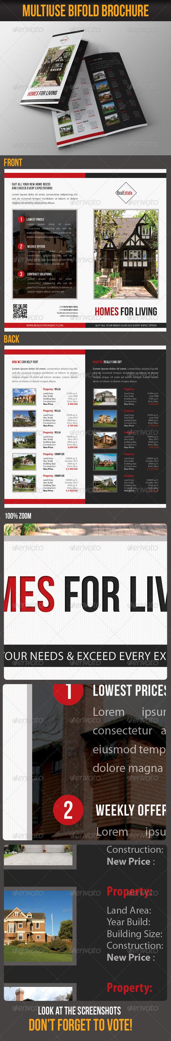 GraphicRiver Multiuse Bifold Brochure 58 7358894