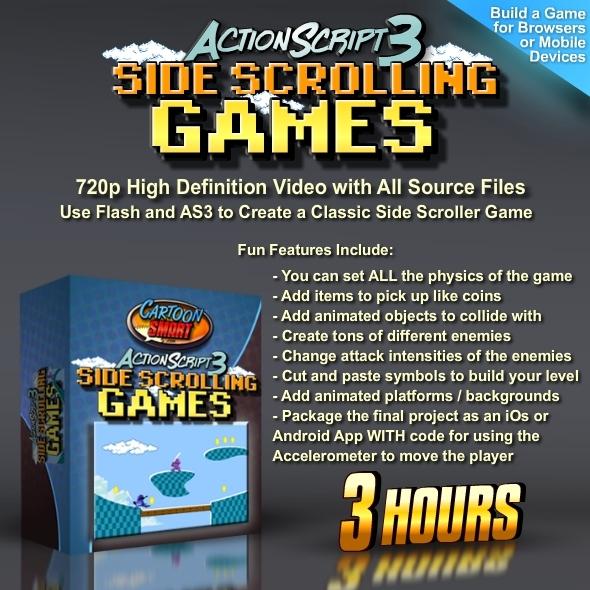TutsPlus Actionscript 3 Side Scroller Games for Mobile Apps 762174