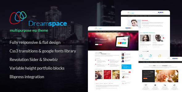 ThemeForest Dreamspace Responsive WordPress Theme 7280817